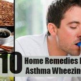 10 remèdes à la maison pour l'asthme respiration sifflante
