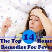 10 remèdes à la maison pour la fièvre