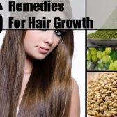 6 Les remèdes naturels pour la croissance des cheveux