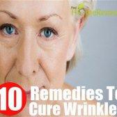 10 remèdes maison simples pour guérir les rides