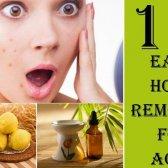 10 remèdes maison étonnamment facile pour l'acné qui fonctionnent réellement