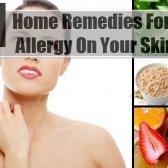 11 Remèdes maison pour l'allergie sur votre peau