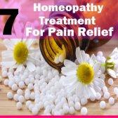 7 traitement homéopathie pour soulager la douleur