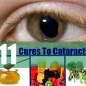 11 remède naturel à la cataracte