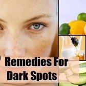 12 remèdes efficaces à domicile pour les taches sombres
