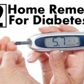 12 remèdes à la maison pour le diabète et comment les utiliser