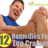 12 Accueil recours pour les crampes dans les jambes