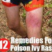 12 Accueil recours pour éruption de la dermatite