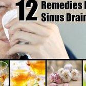 12 Accueil recours pour le drainage des sinus