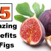 15 avantages étonnants de figues