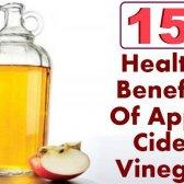 15 prestations de santé de vinaigre de cidre