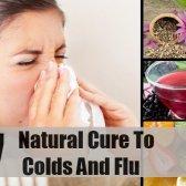 7 remèdes naturels pour le rhume et la grippe