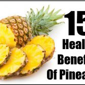 15 prestations de santé de l'ananas
