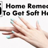15 remèdes à la maison pour obtenir des mains douces