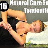 16 remède naturel pour les tendinites