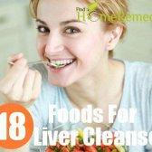 18 aliments pour nettoyage du foie