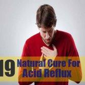 19 remède naturel pour le reflux acide