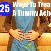 25 façons de traiter un mal de ventre
