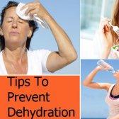 3 conseils pour prévenir la déshydratation