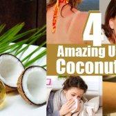4 utilisation étonnante de l'huile de noix de coco