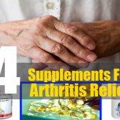 4 meilleurs suppléments pour le soulagement de l'arthrite