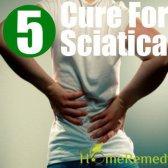 5 remède naturel pour une sciatique