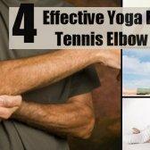4 yoga efficace pour le tennis elbow