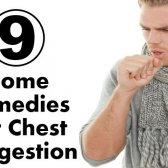 9 remèdes maison simples pour congestion de la poitrine