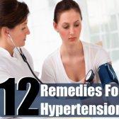 12 remèdes à la maison pour l'hypertension