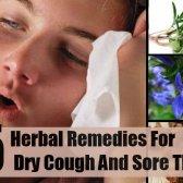 5 remèdes étonnants pour la toux sèche et maux de gorge