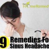 9 Accueil remèdes pour les maux de tête de sinus
