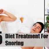 5 Meilleur traitement de l'alimentation pour le ronflement