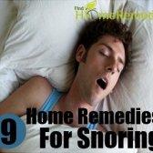 Arrêtez gênant votre conjoint avec 9 remèdes maison pour le ronflement