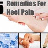 5 meilleurs remèdes maison pour la douleur au talon