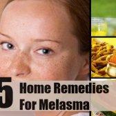 5 meilleurs remèdes maison pour mélasma