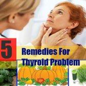 5 meilleurs remèdes maison pour des problèmes de thyroïde