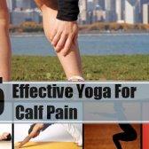 5 yoga facile et efficace pour les douleurs au mollet