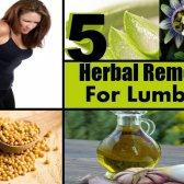 5 remèdes efficaces pour lumbago