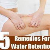 5 remèdes efficaces pour la rétention d'eau