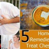 5 remèdes maison efficace pour traiter la douleur de poitrine