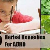 5 remèdes à base de plantes pour le TDAH