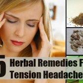 5 remèdes à base de plantes pour les céphalées de tension