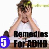5 remèdes maison pour le TDAH