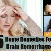 5 remèdes maison pour une hémorragie cérébrale