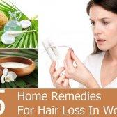 5 remèdes maison pour la perte de cheveux chez les femmes