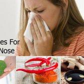 5 Accueil recours pour le nez qui coule