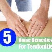 5 remèdes maison incroyables pour les tendinites
