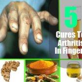 5 remèdes naturels à l'arthrite dans les doigts