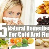5 remèdes naturels pour le rhume et la grippe