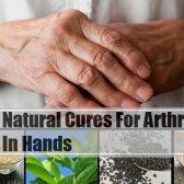5 remède naturel simple pour l'arthrite dans les mains